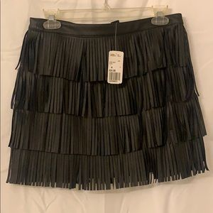 Forever 21 short Fringe skirt